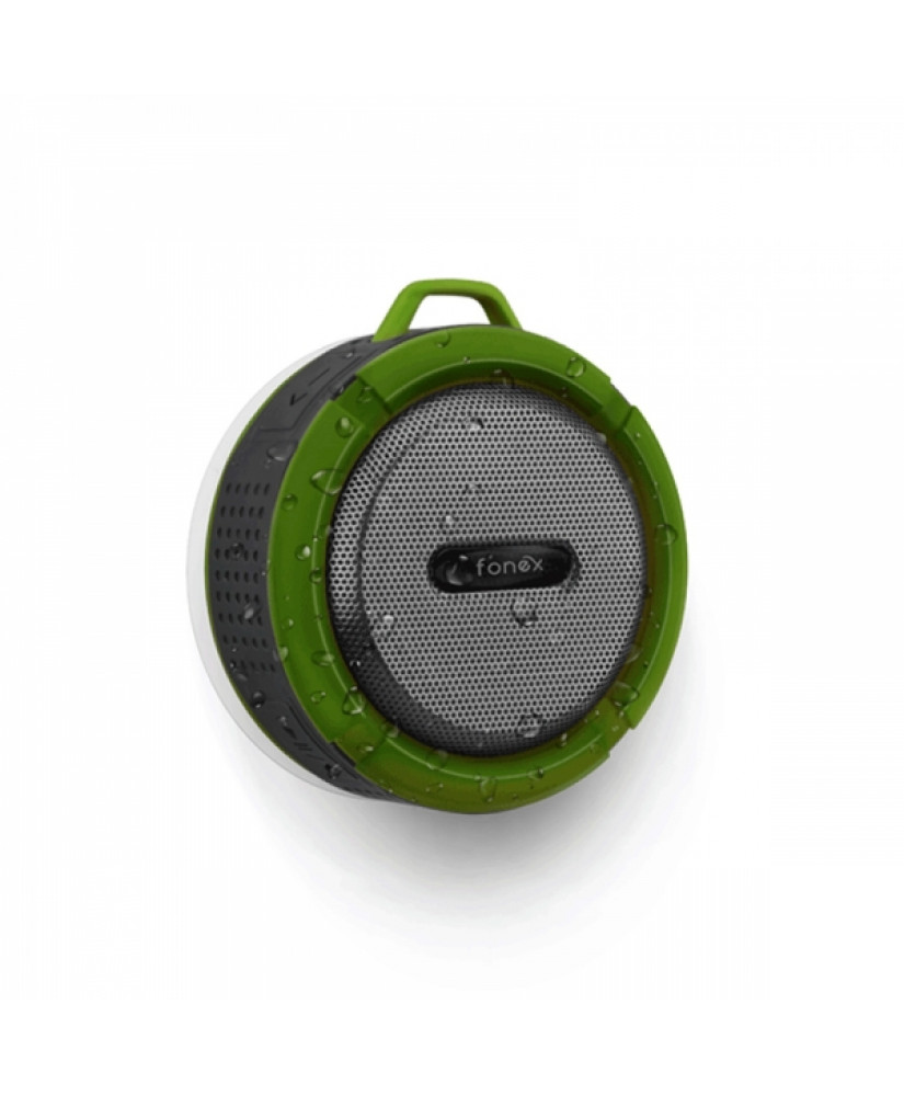 FONEX PORTABLE SPEAKER WITH BLUETOOTH green