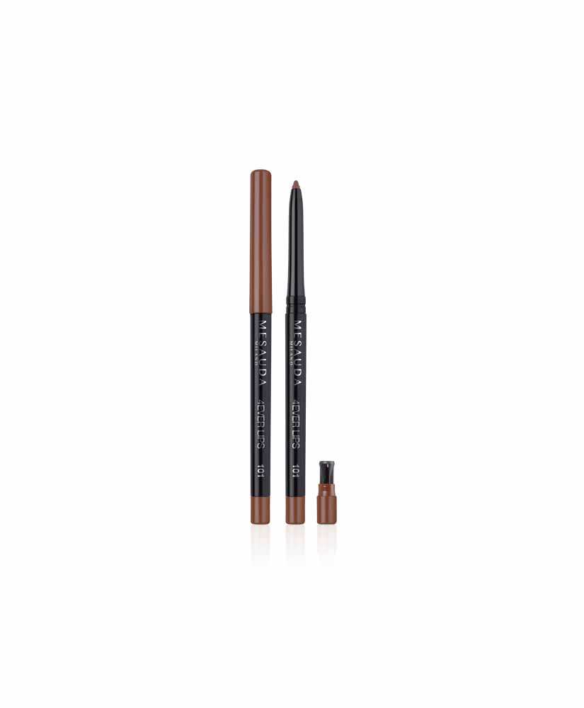 MESAUDA ΜΟΛΥΒΙ ΧΕΙΛΙΩΝ 4EVER LIPS WATERPROOF 101 BROWN 0,35 gr