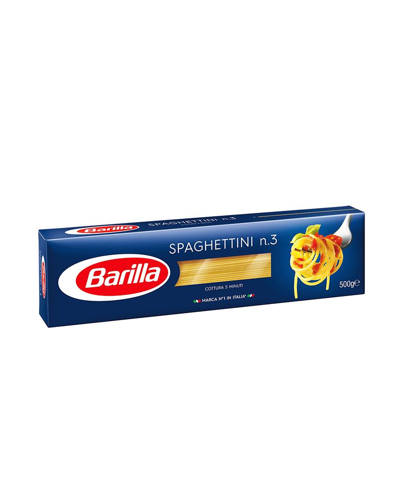 BARILLA ΜΑΚΑΡΟΝΙΑ SPAGHETTINI N.3 500GR