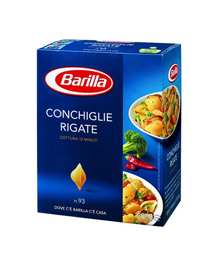 BARILLA ΚΟΧΥΛΙ ΡΙΓΕ CONCHIGLIE RIGATE 500GR