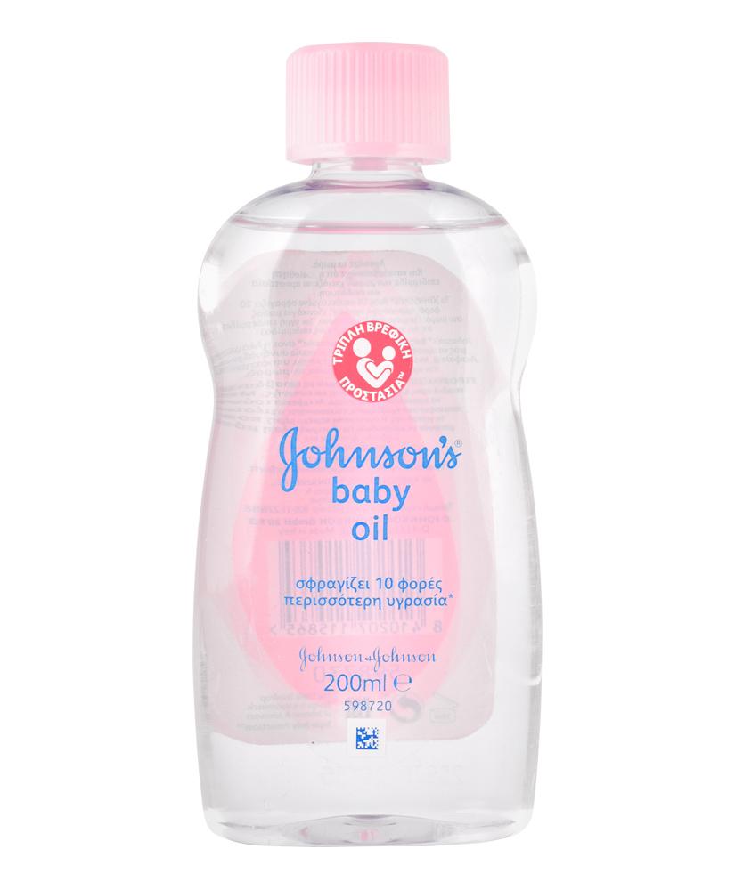 JOHNSON'S BABY OIL REGULAR 200ML