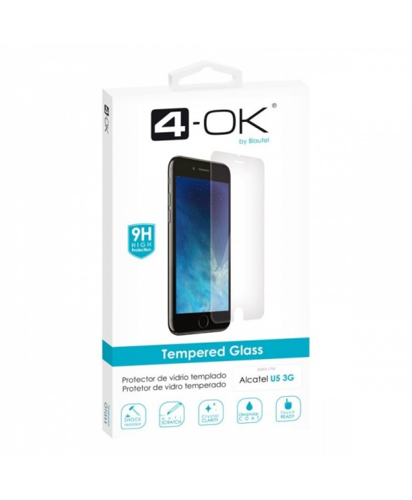 4OK TEMPERED GLASS ALCATEL U5 3G
