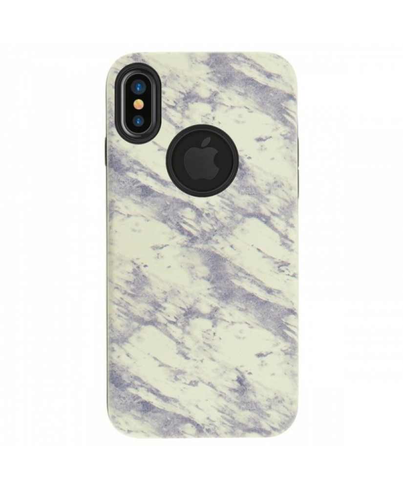 4OK MARBLE IPHONE X XS white backcover