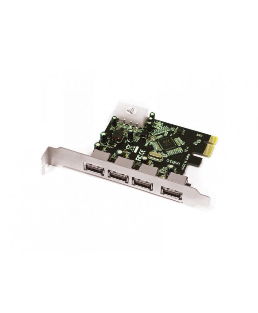 APPROX PCI-E ΚΑΡΤΑ 4-PORTS USB 3.0