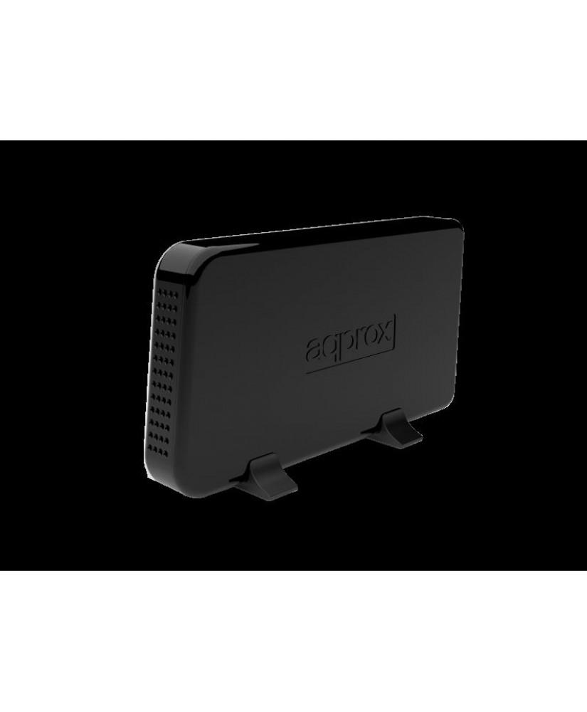 """APPROX ΘΗΚΗ ΓΙΑ 3,5"""" HDD USB 3.0 ΜΑΥΡΟ"""