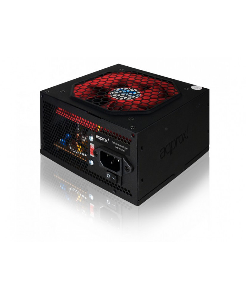 APPROX PSU 500W LITE2 GREEN BOX ΜΑΥΡΟ