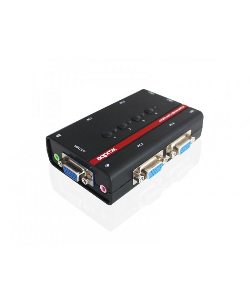 APPROX KVM SWITCH 4 PC