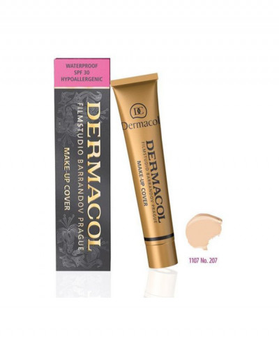 DERMACOL MAKE-UP COVER FOUNDATION ΑΔΙΑΒΡΟΧΟ No 207 30gr