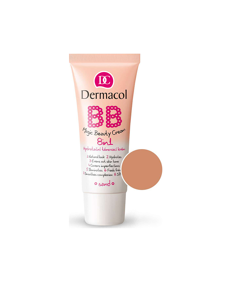 DERMACOL BB CREAM MAGIC BEAUTY SAND 8IN 1 30ML