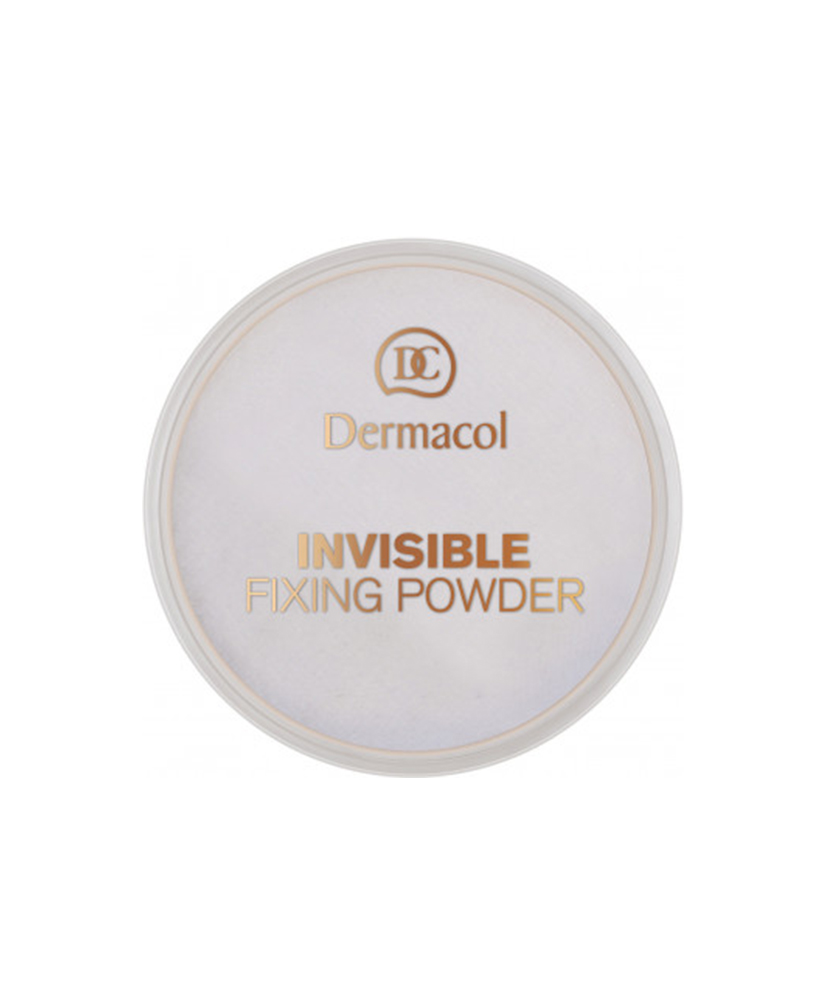 DERMACOL INVISIBLE FIXING POWDER, WHITE 13GR