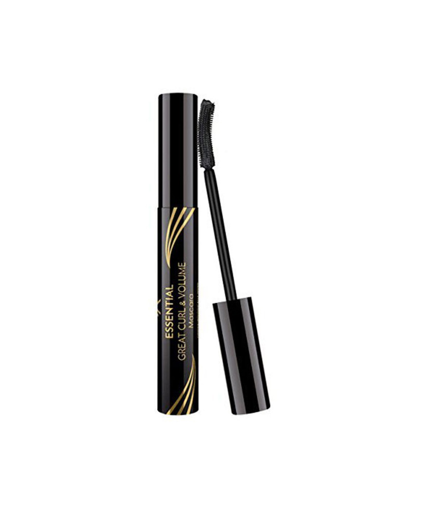 GOLDEN ROSE GR ESSENTIAL GREAT CURL & VOLUME MASCARA  BLACK 9ml