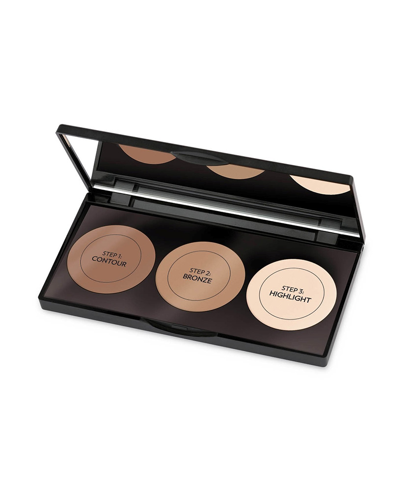 GOLDEN ROSE GR CONTOUR POWDER KIT 10,5gr