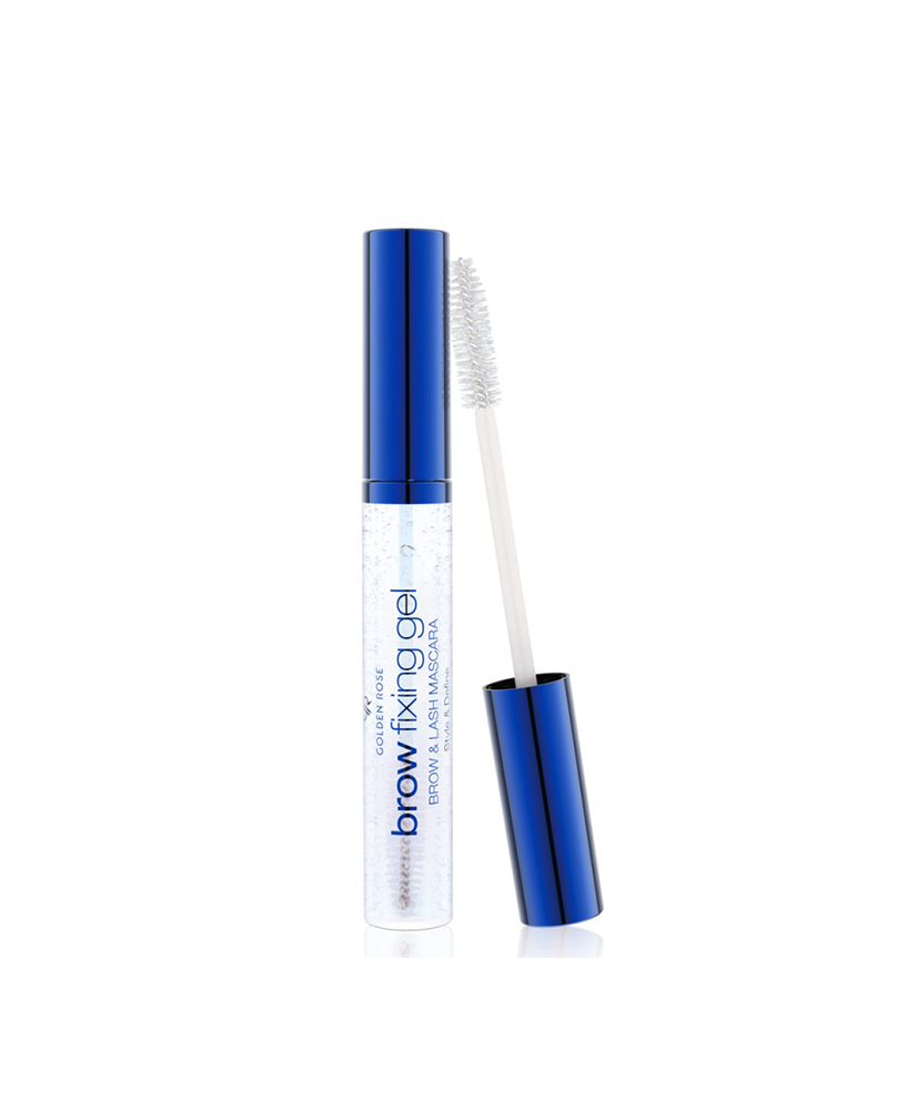 GOLDEN ROSE BROW FIXING GEL - BROW & LASH MASCARA STYLE AND DEFINE 11ml