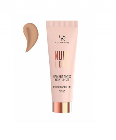 GOLDEN ROSE NUDE LOOK RADIANT TINTED MOISTURISER SPF25 02 MEDIUM TINT 32ML