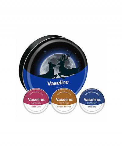 VASELINE GIFTSET LIP THERAPY 3 X 20GR
