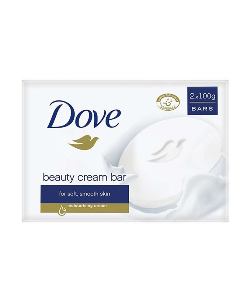DOVE ΚΡΕΜΟΣΑΠΟΥΝΟ BEAUTY CREAM BAR  2 x 100GR