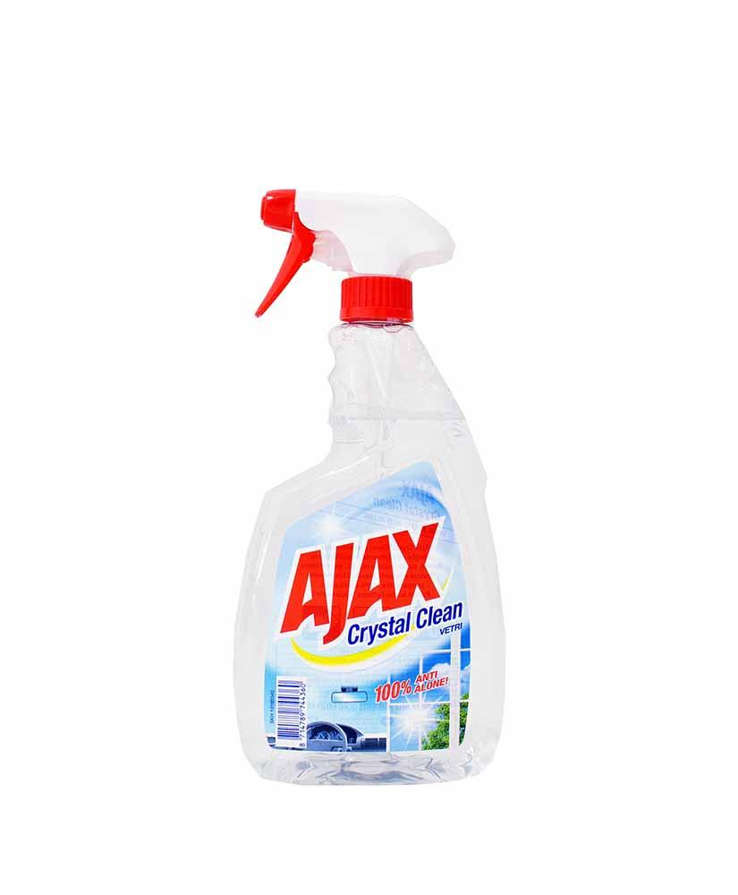 AJAX CRYSTAL CLEAN SPRAY ΚΑΘΑΡΙΣΜΟΥ ΤΖΑΜΙΩΝ  750ML