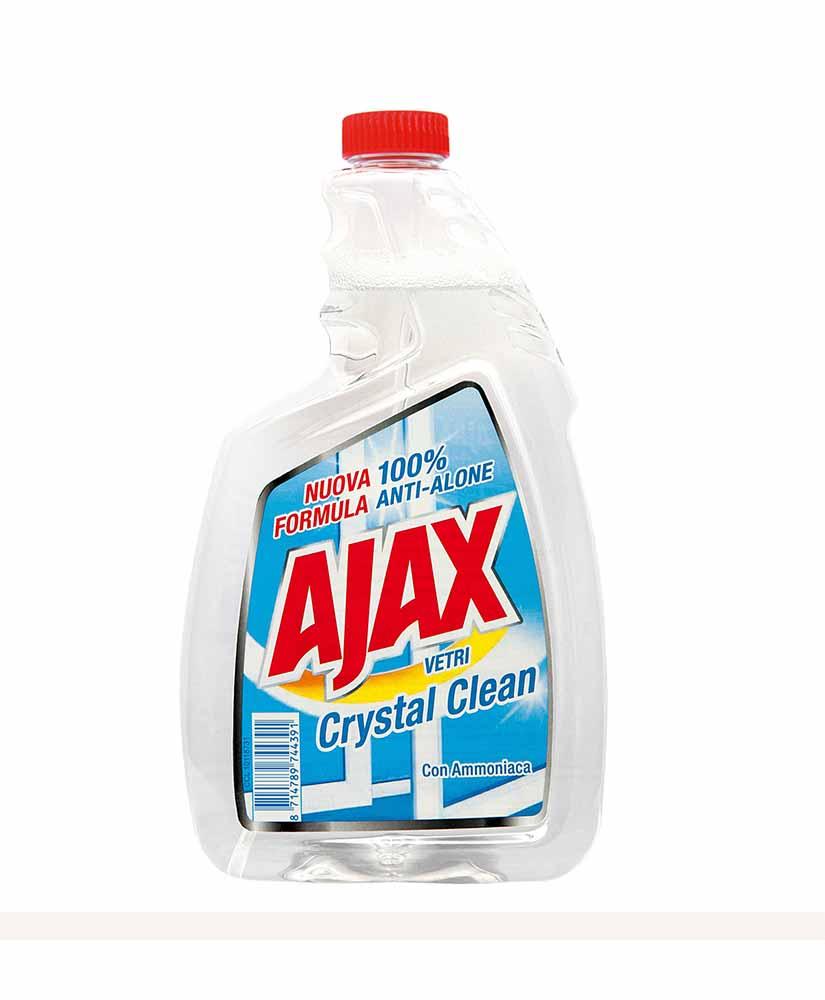 AJAX CRYSTAL CLEAN SPRAY ΚΑΘΑΡΙΣΜΟΥ ΤΖΑΜΙΩΝ  750ML ΑΝΤΑΛ/ΚΟ