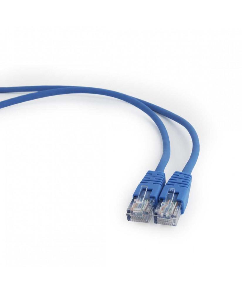ΚΑΛΩΔΙΟ ΔΙΚΤΥΟΥ CABLEXPERT UTP CAT5E 0.50m BLUE