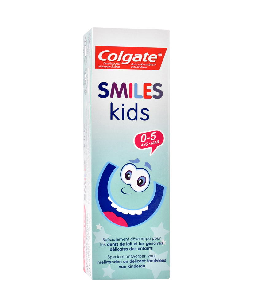 COLGATE ΟΔΟΝΤΟΚΡΕΜΑ SMILES KIDS 0 ΕΩΣ 5 ΧΡΟΝΩΝ 50ml