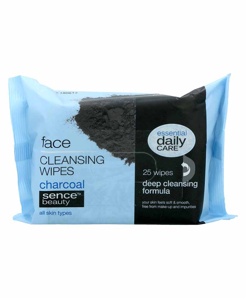 ESSENTIAL DAILY CARE ΜΑΝΤΗΛΑΚΙΑ ΝΤΕΜΑΚΙΓΙΑΖ CHARCOAL 25TΜΧ