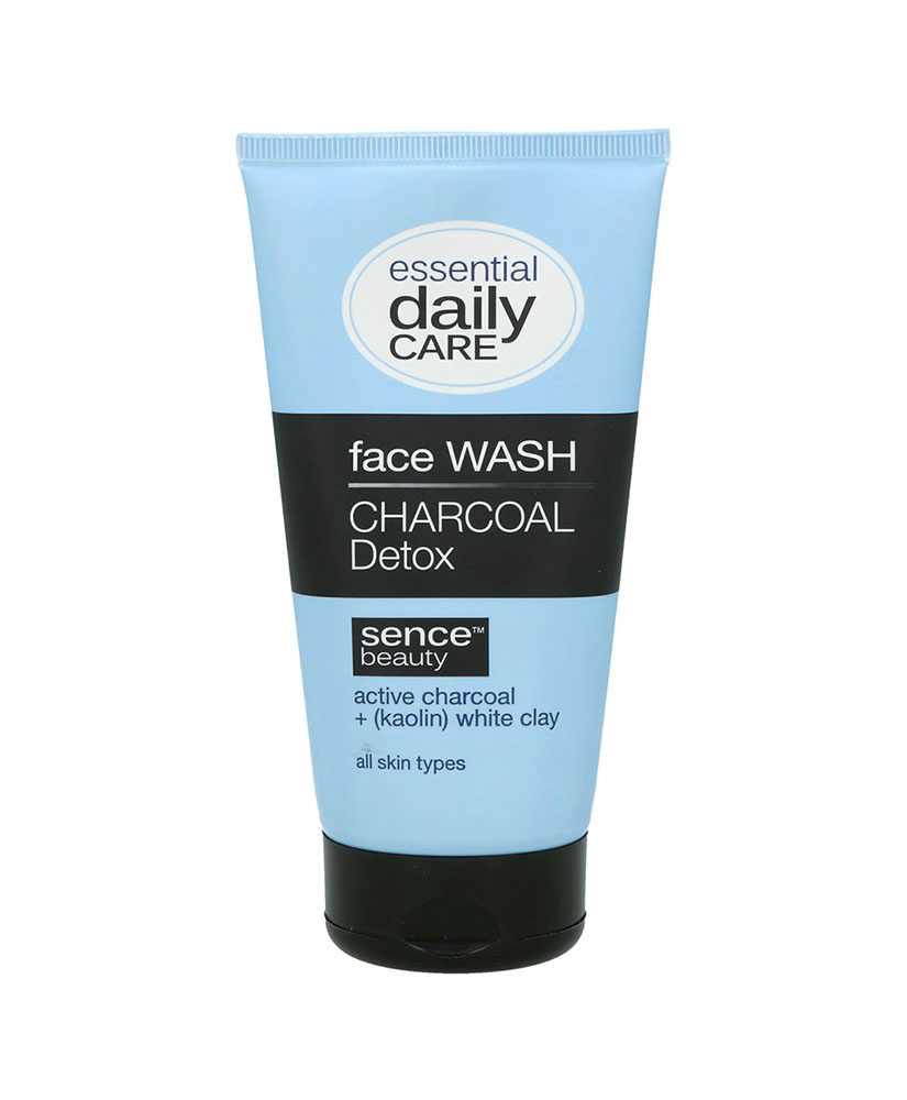 SENCE BEAUTY ESSENTIAL DAILY CARE ΣΑΠΟΥΝΙ ΠΡΟΣΩΠΟΥ CHARCOAL KAOLIN WHITE CLAY 150ml