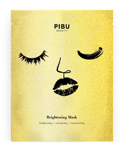 PIBU BRIGHTENING FACE SHEET MASK 29ml