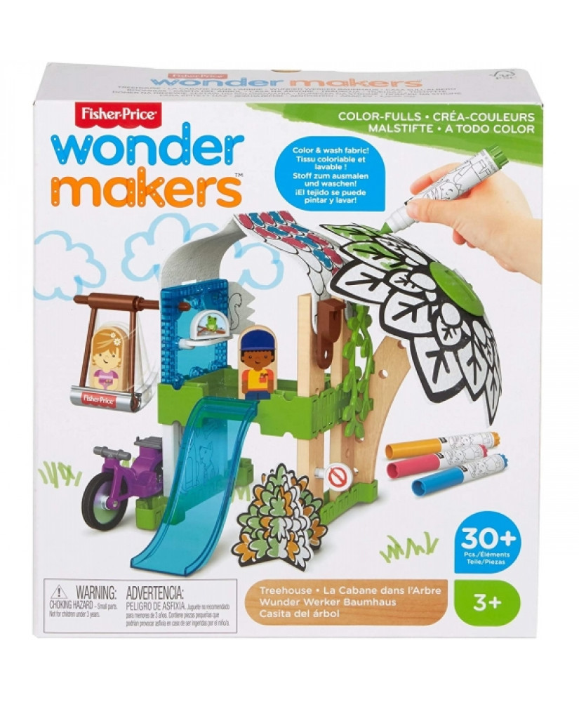 FISHER-PRICE WONDER MAKERS DESIGN SYSTEM TREEHOUSE