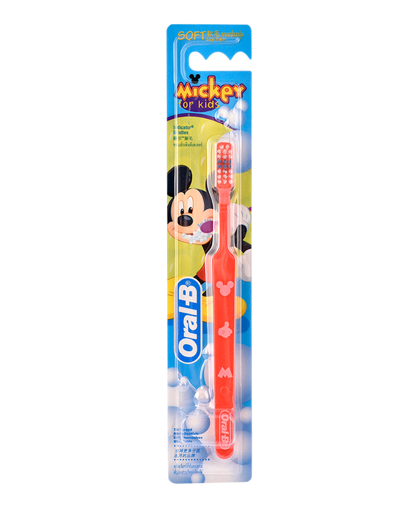 ORAL B ΟΔΟΝΤΟΒΟΥΡΤΣΑ MICKEY FOR KIDS SOFT ΜΑΛΑΚΗ