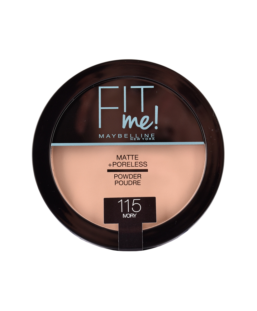 MAYBELLINE ΠΟΥΔΡΑ FIT ME MATTE AND PORELESS No 115 Ivory 14G