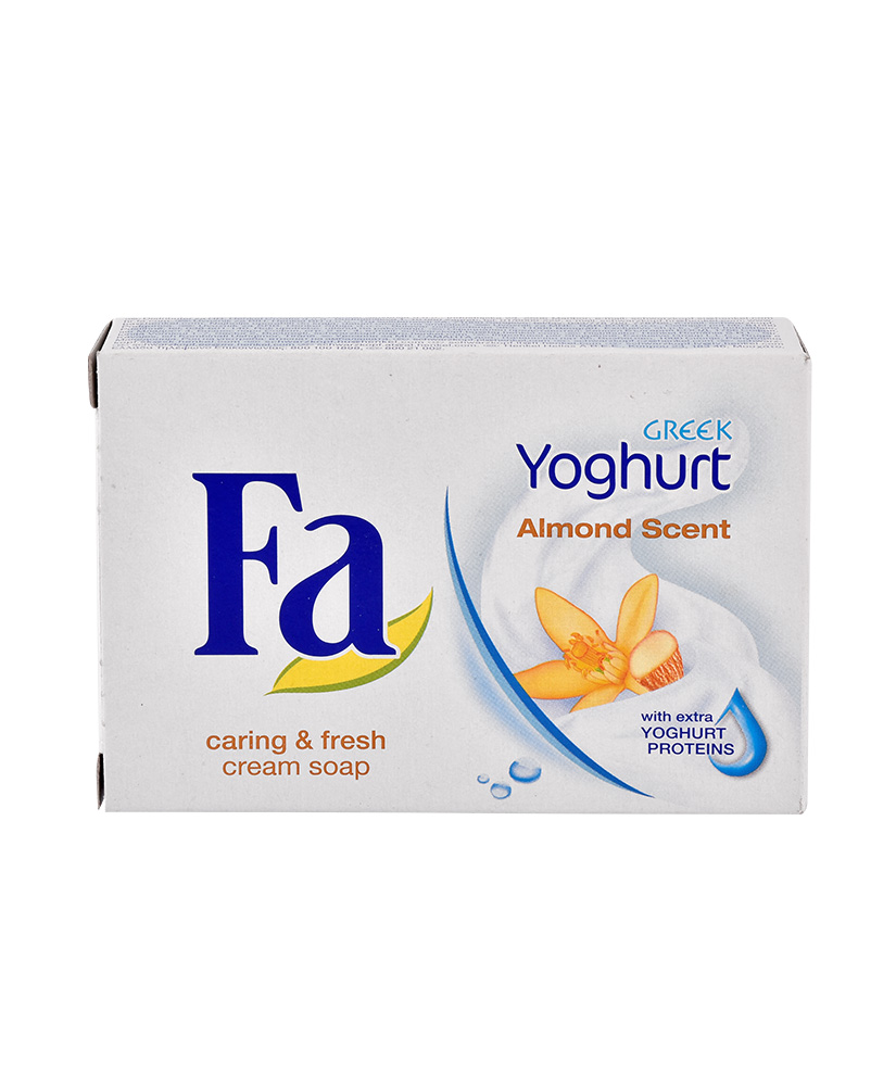 FA ΣΑΠΟΥΝΙ GREEK YOGHURT ALMOND SCENT 90GR