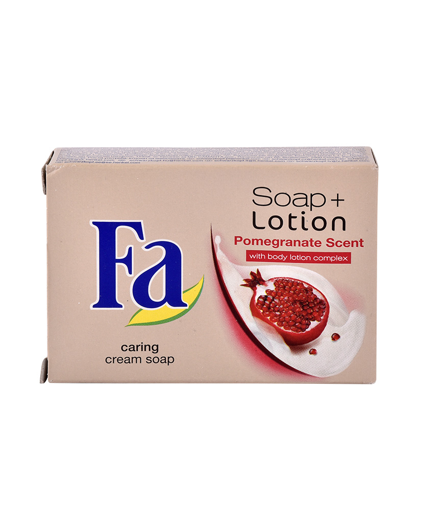 FA ΣΑΠΟΥΝΙ SOAP + LOTION POMEGRANATE SCENT 90GR