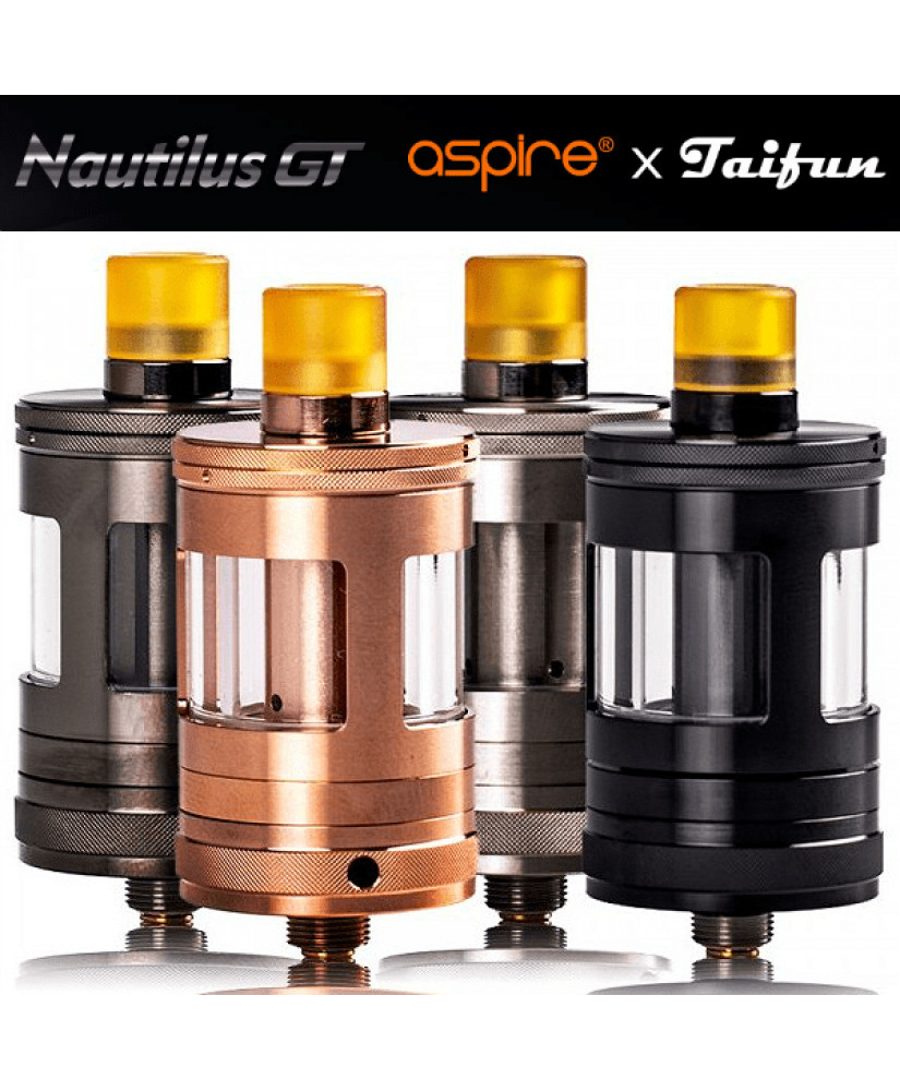 ASPIRE ΑΤΜΟΠΟΙΗΤΗΣ NAUTILUS GT TANK 24MM 2ML ( BLACK )