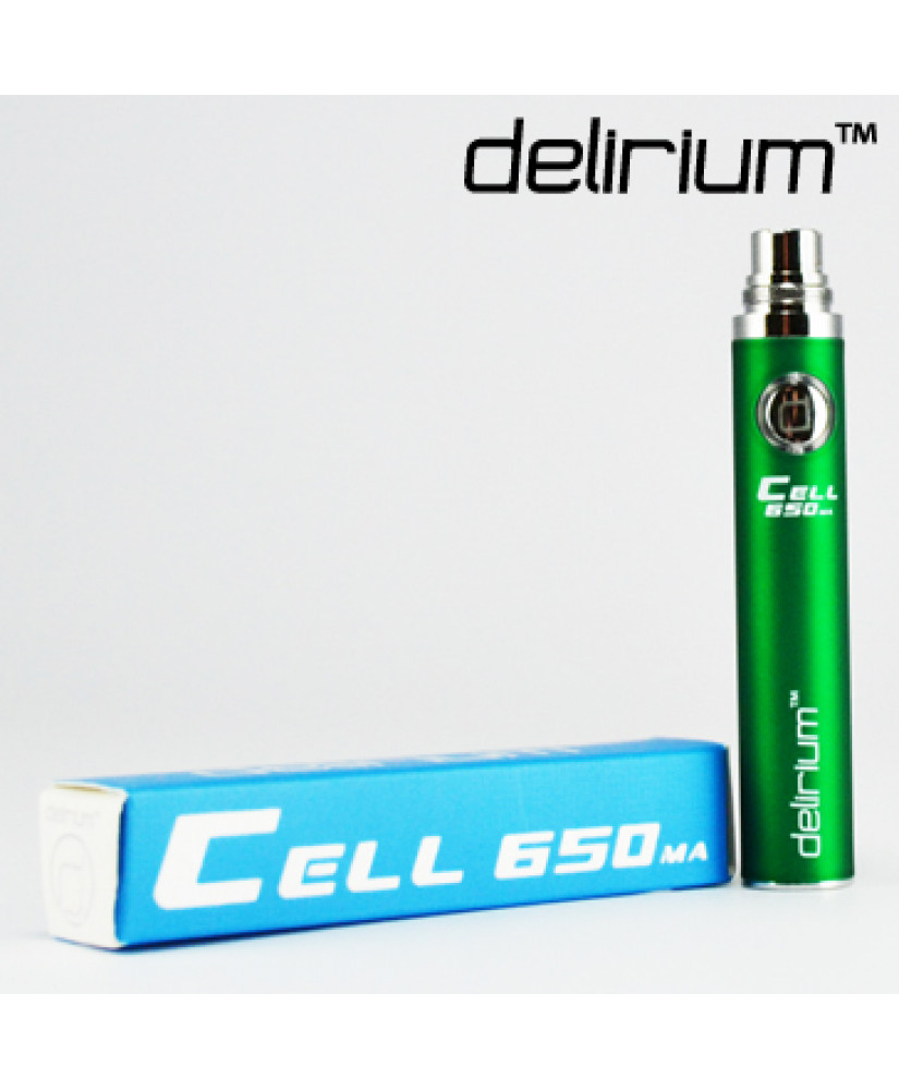 DELIRIUM ΜΠΑΤΑΡΙΑ CELL eGo 650mA ( GREEN)
