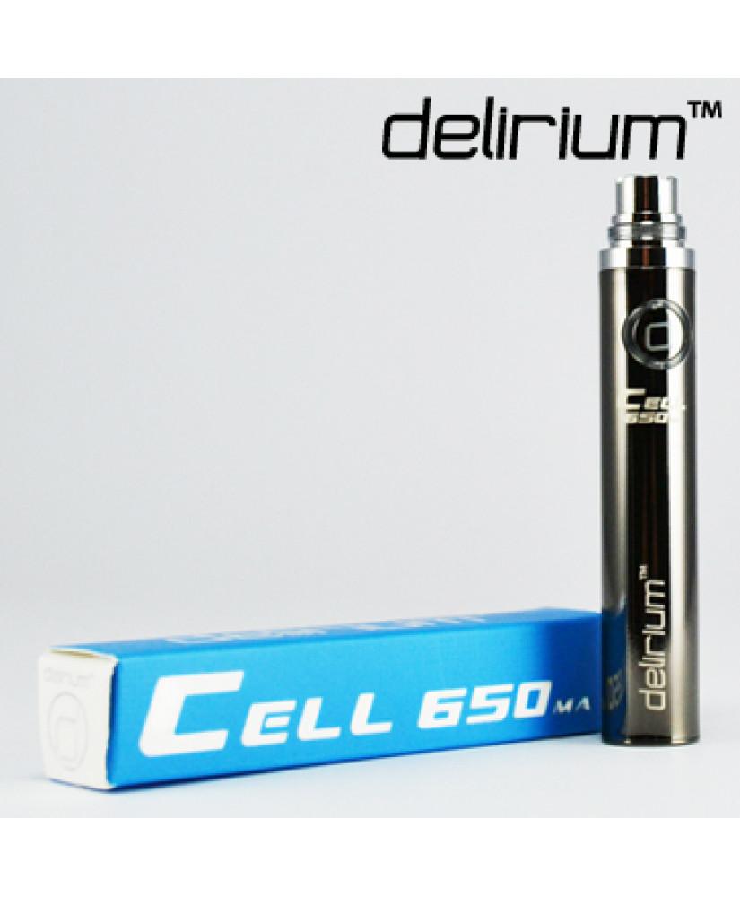 DELIRIUM ΜΠΑΤΑΡΙΑ  CELL eGo 650mA ( GUNMETAL )