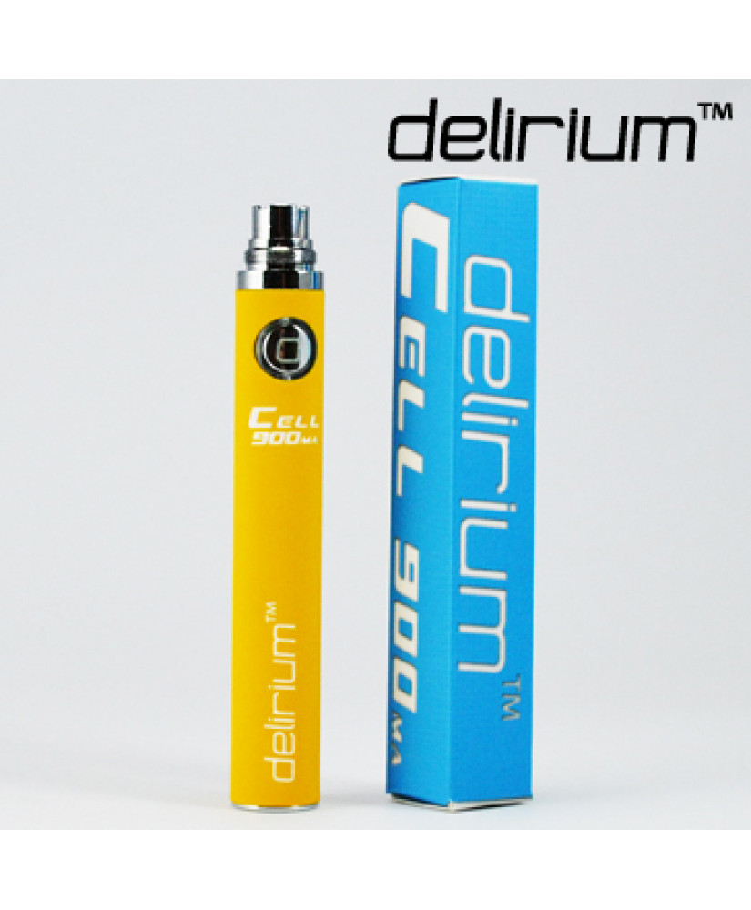 DELIRIUM ΜΠΑΤΑΡΙΑ  CELL eGo 900mA ( YELLOW )