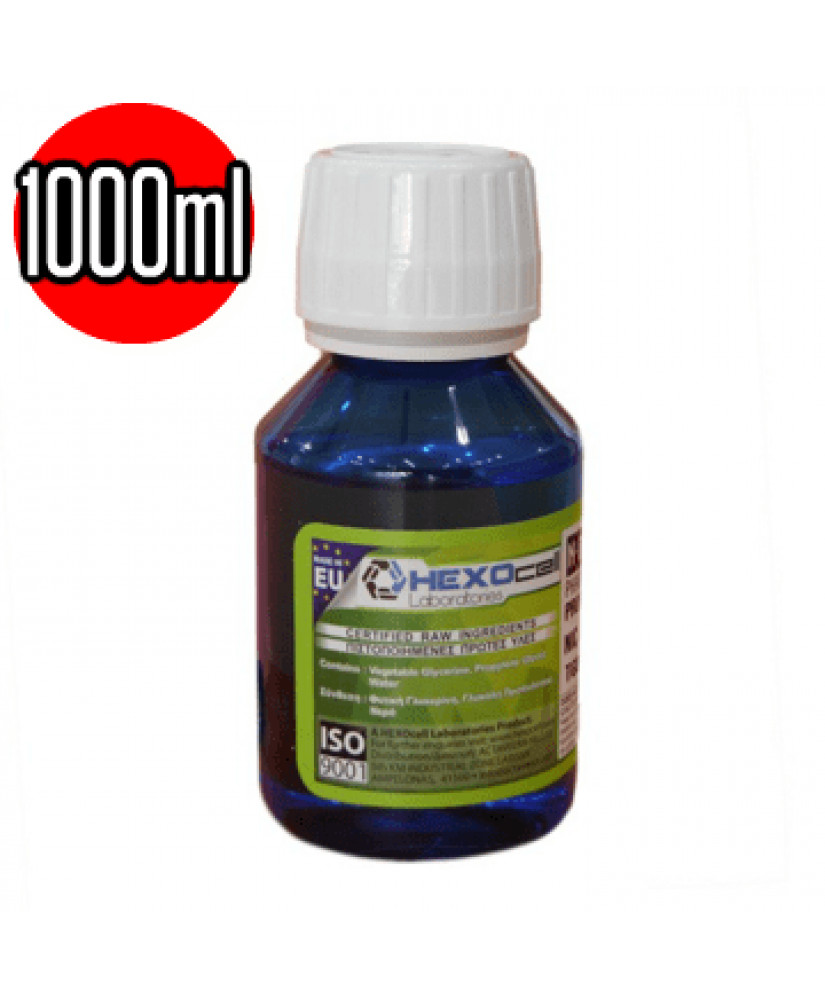 HEXOCELL SUPERHEAVY INDUSTRIES  BASE PG 0mg 1000ML