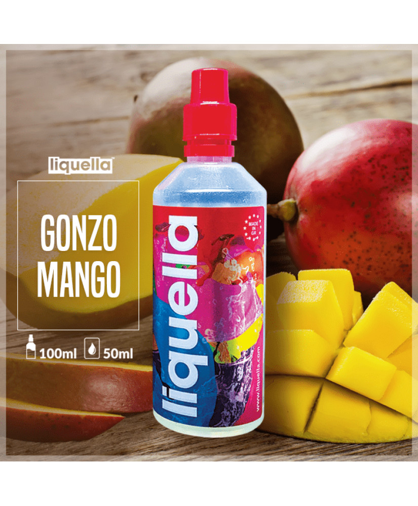 LIQUELLA MIX & SHAKE 50/80ML GONZO MANGO (ΩΡΙΜΟ ΜΑΝΓΚΟ)