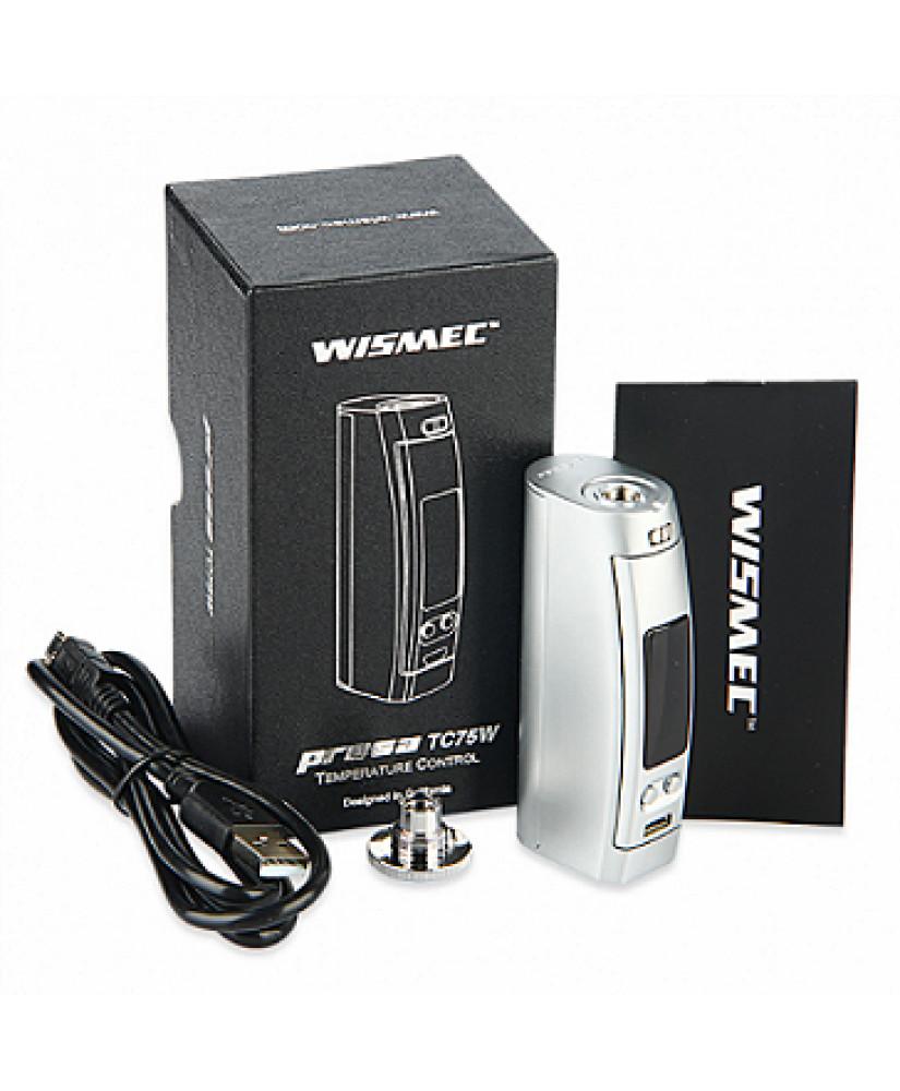 WISMEC PRESA 75w TC ( SILVER )